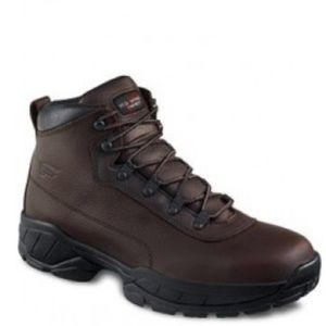 Red Wing 6681 Leather Steel Toe Work Boot Sz 8.5